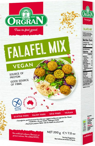 Orgran Falafel Mix 200gm