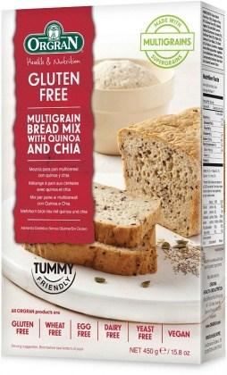 Orgran Multigrain Bread Mix w/Quinoa & Chia 450g