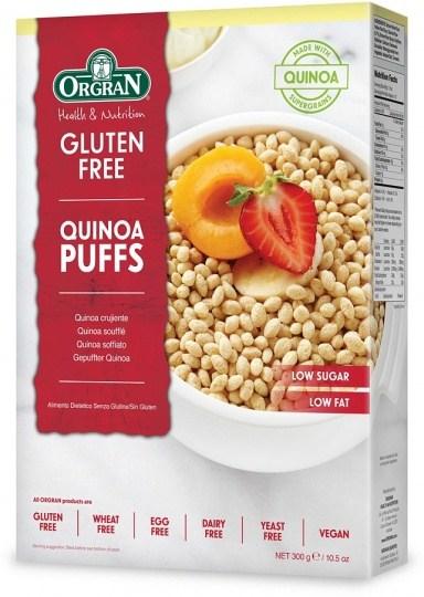 Orgran Quinoa Puffs  300g