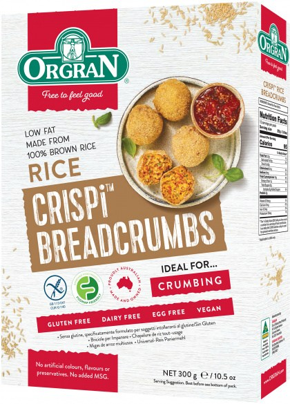 Orgran Rice Breadcrumbs 300gm