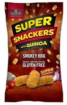 Orgran Super Snackers with Quinoa Smokey BBQ 90g