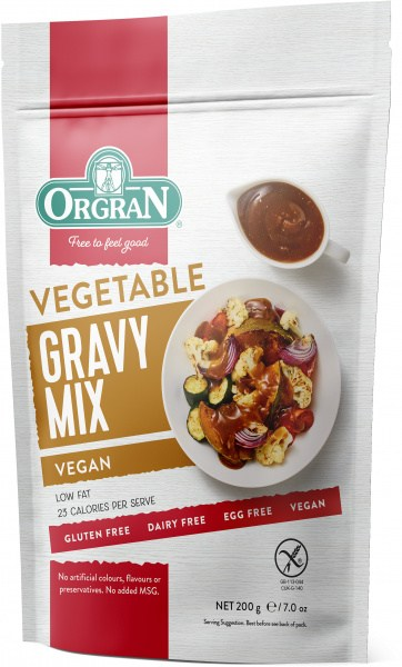 Orgran Vegetable Gravy Mix 200g Pouch