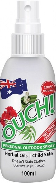 Ouch Organic Personal Outdoor Spray 100ml