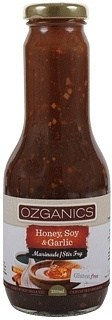 Ozganics Honey,Soy&Garlic Marinade  350ml