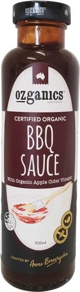 Ozganics Organic BBQ Sauce  350ml