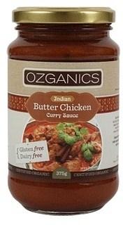 Ozganics Organic Butter Chicken Sauce  375g