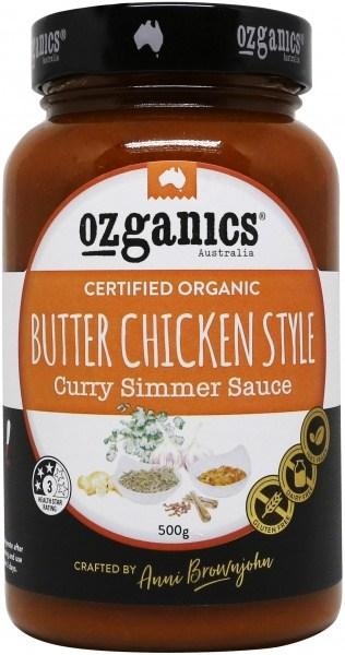 Ozganics Organic Butter Chicken Sauce  500g