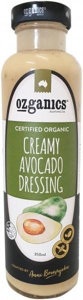 Ozganics Organic Creamy Avocado Dressing  350ml