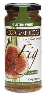 Ozganics Organic Fig Spread  300g