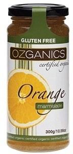 Ozganics Organic Orange Marmalade  300g