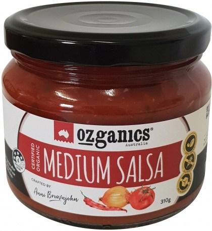 Ozganics Organic Salsa Medium  310g