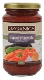 Ozganics Organic Spring Vege Pasta Sauce  375g