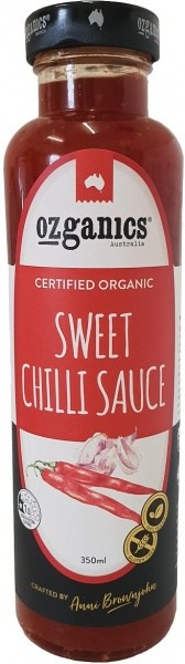 Ozganics Organic Sweet Chilli Sauce  350ml
