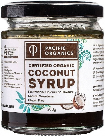Pacific Organics Coconut Syrup 200g