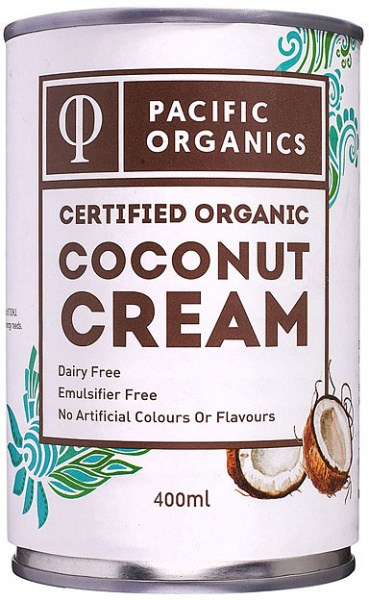 Pacific Organics Organic Coconut Cream  400ml