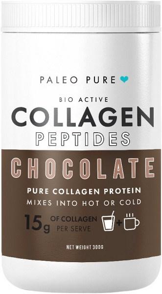 Paleo Pure Bio Active Collagen Peptides Chocolate Protein Mix 300g