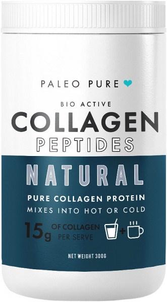 Paleo Pure Bio Active Collagen Peptides Natural Protein Mix 300g