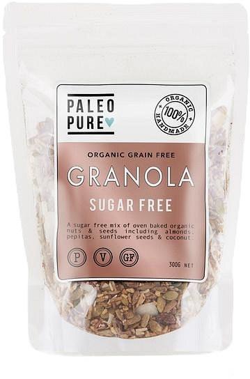 Paleo Pure Ogranic Grain Free Granola Sugar Free  300g