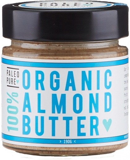Paleo Pure Organic Almond Butter 190g