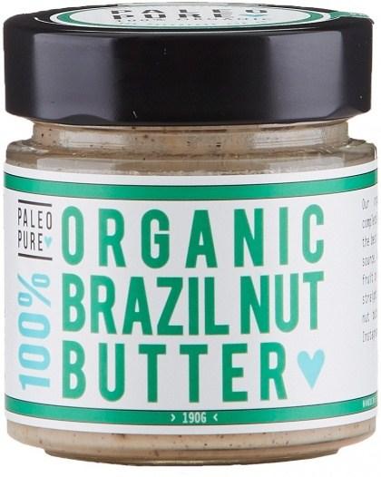 Paleo Pure Organic Brazil Nut Butter 190g