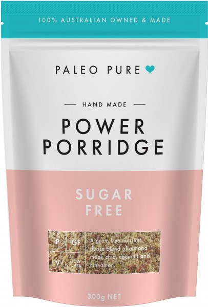 Paleo Pure Organic Power Porridge Sugar Free 300g
