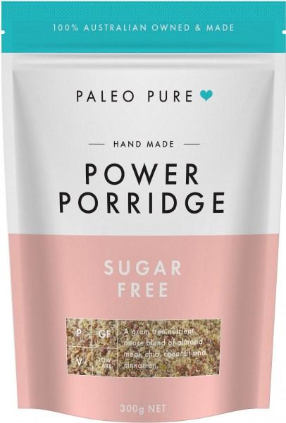 Paleo Pure Organic Power Porridge Sugar Free 300g