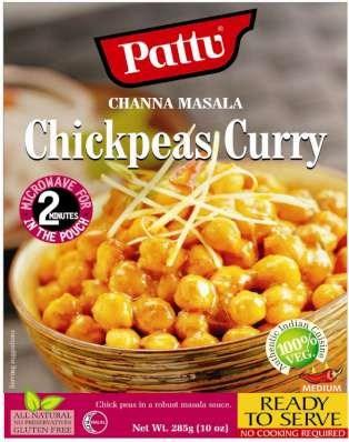 Pattu Channa Masala (chickpeas curry) 285gm