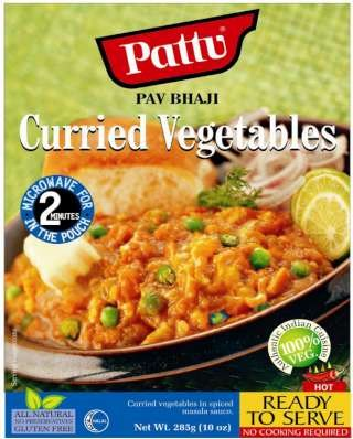 Pattu Pav Bhaji (Curried Vegetables)285gm
