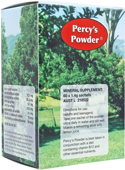 Percys Powder 60 x 1.4gm Sachets