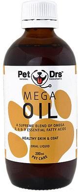 Pet Drs Mega Oil 200ml