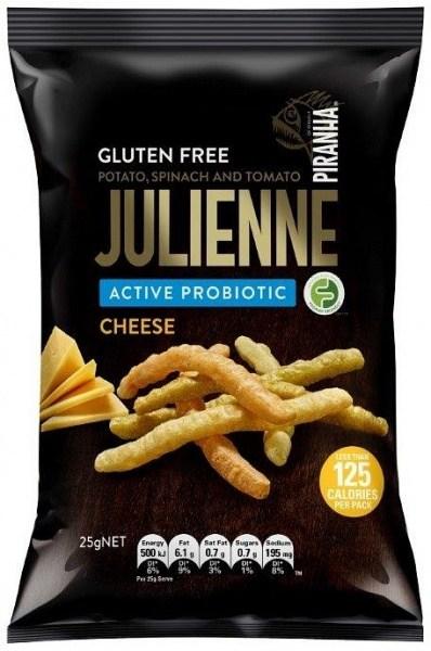 Piranha Julienne Active Probiotics Cheese  24x25g