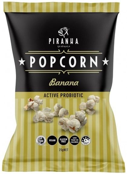 Piranha Popcorn Banana  24x25g