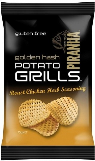 Piranha Potato Grills Roast Chicken Herb Seasoning  12x75g JULY18
