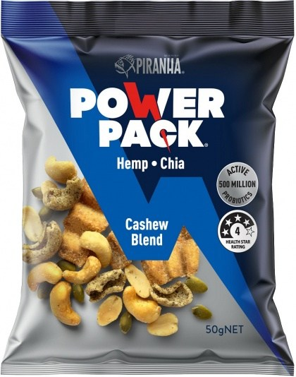 Piranha Power Pack Cashew Blend 50g