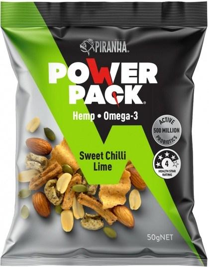 Piranha Power Pack Sweet Chilli Lime 50g