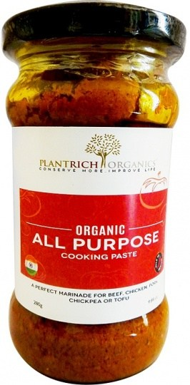 Plantrich Organics All Purpose Cooking Pastes 280g