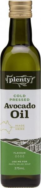 Plenty Cold Pressed Avocado Oil 375ml