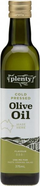 Plenty Cold Pressed Olive Oil 375ml
