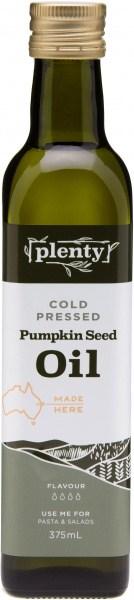 Plenty Cold Pressed Pumpkin Seed Oil 375ml