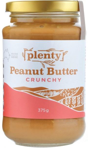 Plenty Peanut Butter Crunchy 375g