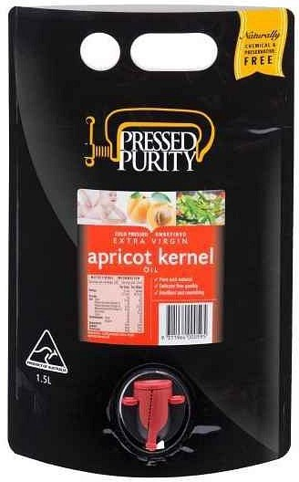 Pressed Purity Apricot Kernel Oil  1.5L DEC21
