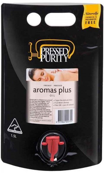 Pressed Purity *Aromas Plus Massage Oil  1.5L