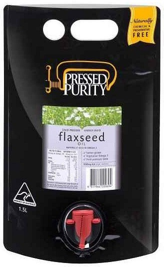 Pressed Purity Flaxseed Oil  1.5L