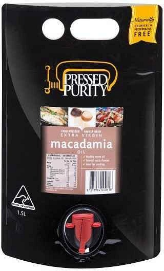 Pressed Purity Macadamia Oil  1.5L