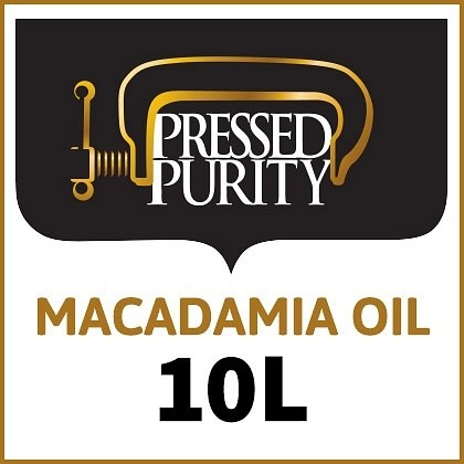 Pressed Purity Macadamia Oil  10L