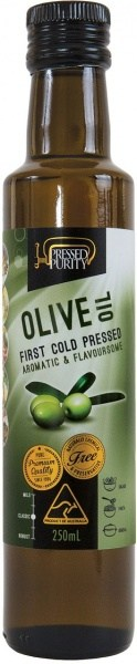 Pressed Purity Olive Oil G/F 250ml OCT23