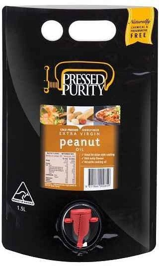 Pressed Purity Peanut Oil  1.5L