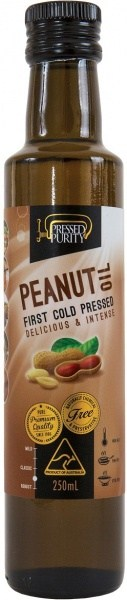 Pressed Purity Peanut Oil  250ml