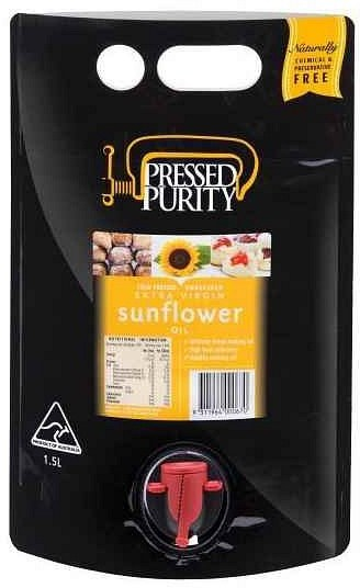 Pressed Purity Sunflower Oil  1.5L