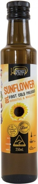 Pressed Purity Sunflower Oil  250ml